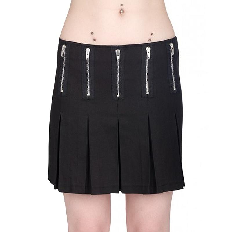Minirock Zipper