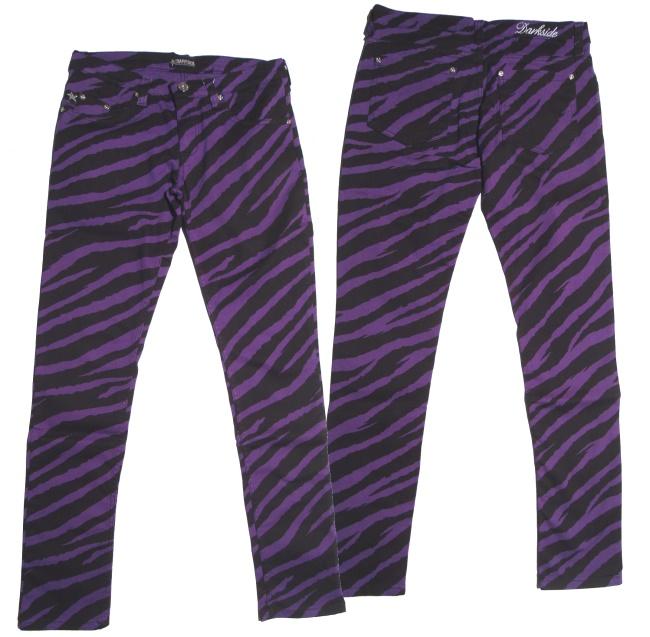 Stretchjeans Zebra