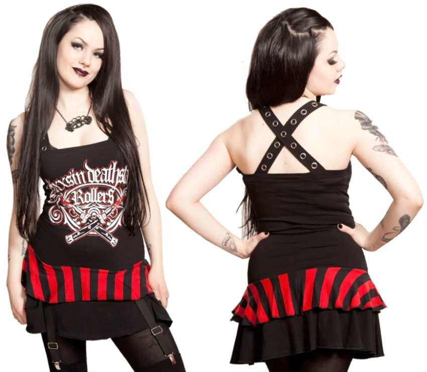 Shirt Kleid Death Star Vixxsin