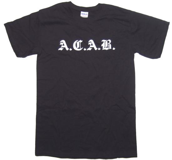 T-Shirt A.C.A.B.