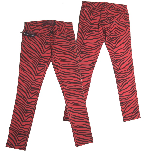 Stretchjeans Zebra EVIL Clothing