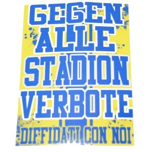 Aufkleber Gegen Alle Stadionverbote