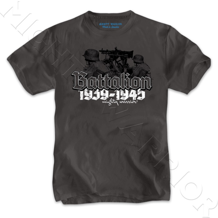 Mighty Warrior T-Shirt Batallion