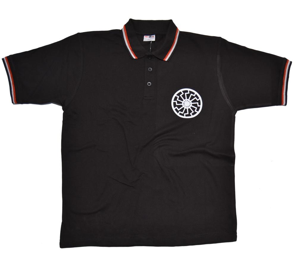 Poloshirt Schwarze Sonne