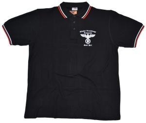 Poloshirt Alkohol Vernichtungs Kommando Sauf Heil K43
