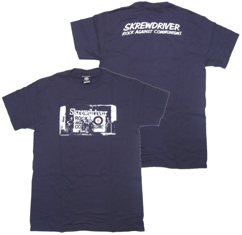 T-Shirt Skrewdriver Rock against Communism