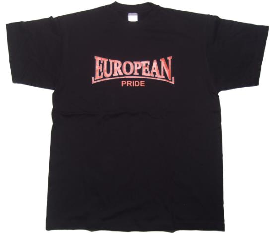 T-Shirt European Pride