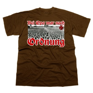 GSS T-Shirt Bei Opa war noch Ordnung G549