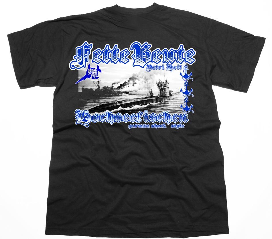 T-Shirt Fette Beute - Hochseefischen