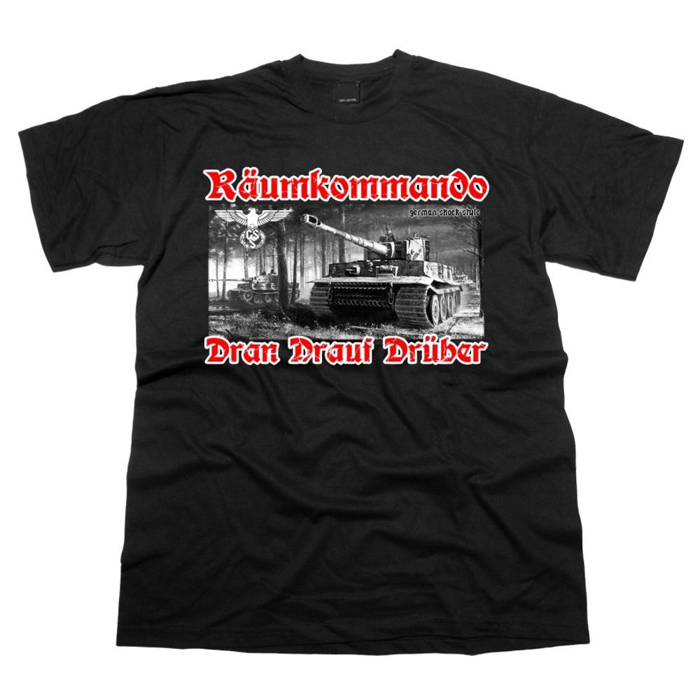 T-Shirt TIGER R�umkommando Dran Drauf Dr�ber
