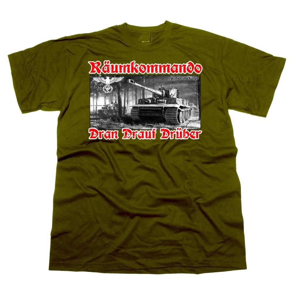 T-Shirt TIGER Räumkommando Dran Drauf Drüber