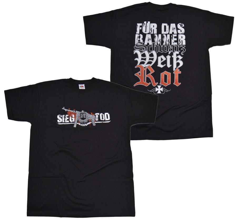 T-Shirt Sieg oder Tod