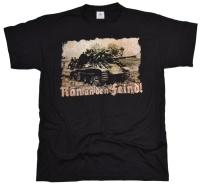 T-Shirt Ran an den Feind!