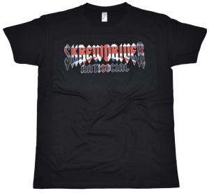 T-Shirt Skrewdriver Antisocial