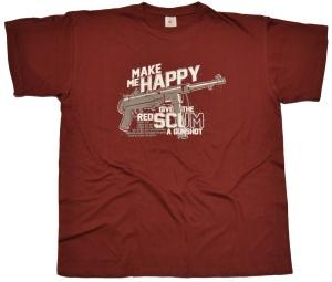 T-Shirt Make Me Happy give a gunshoot G64