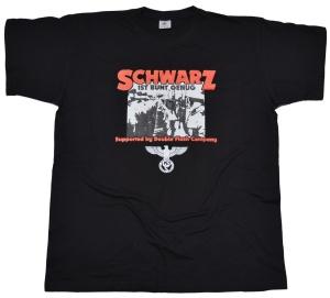 German Schock Style T-Shirt Schwarz ist bunt genug G57