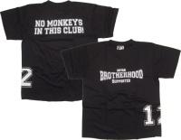 T-Shirt Aryan Brotherhood No Monkeys in this Clubs