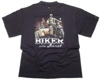 Skaldenburg T-Shirt Biker im Dienst