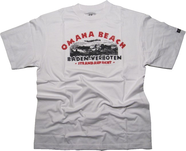 T-Shirt Skaldenburg OMAHA BEACH Baden verboten