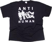 T-Shirt Anti Human