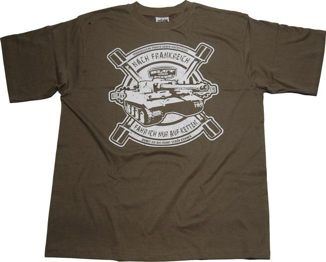 T-Shirt Nach Frankreich nur auf Ketten