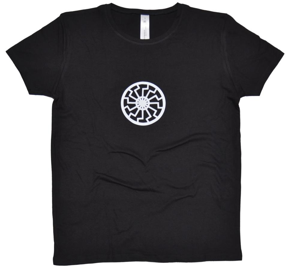 Girl-Shirt Schwarze Sonne