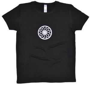 Girl-Shirt Schwarze Sonne K2