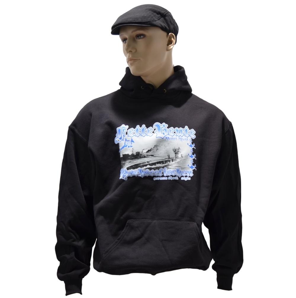 Kapuzensweatshirt Fette Beute - Hochseefischen