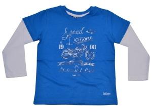 Lee Cooper Kinder Longsleeve Crew T-Shirt