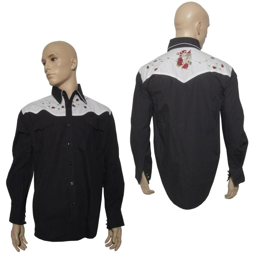 Westernhemd/Rockabilly Hemd Collectif