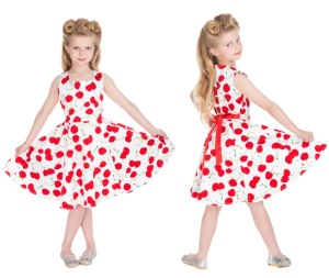 RocknRollkleid Cherry Kinder H&R London