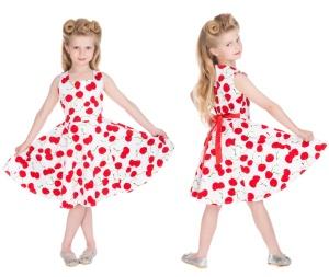 Rockn Rollkleid Cherry Kinder H&R London