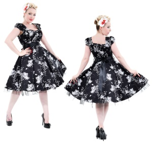 Rock n Roll Kleid H&R London