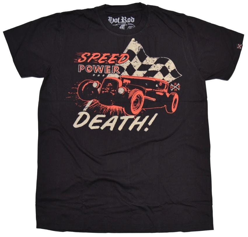 Hot Rod Hellcat T-Shirt Speed Power Death