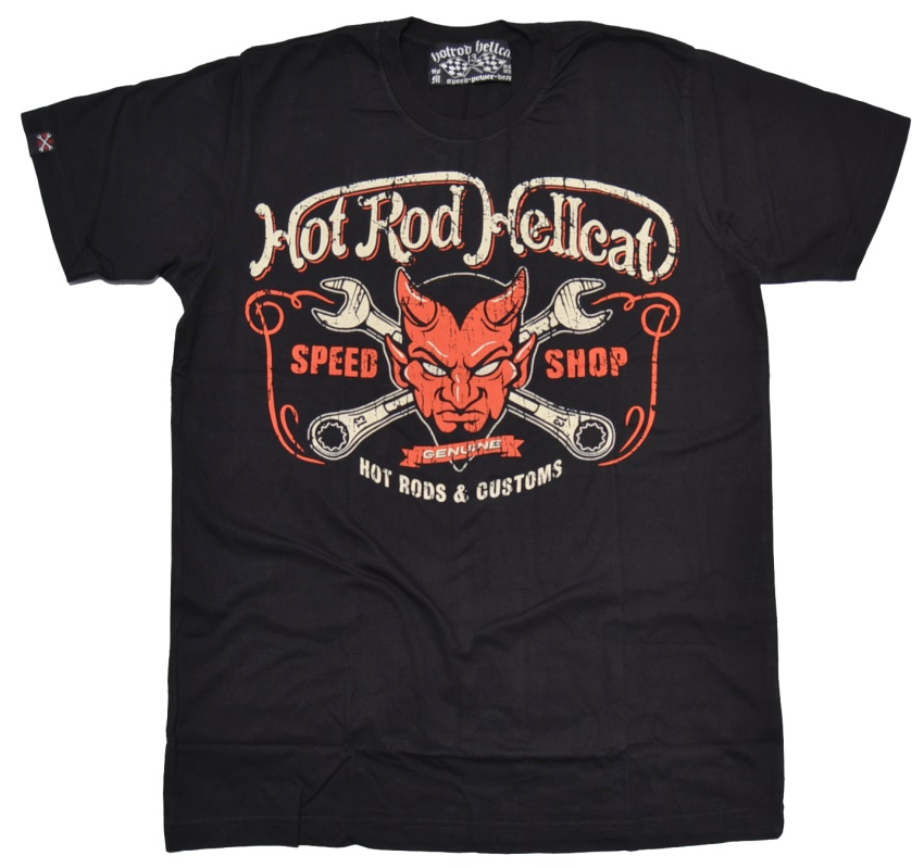 Hot Rod Hellcat T-Shirt Devil