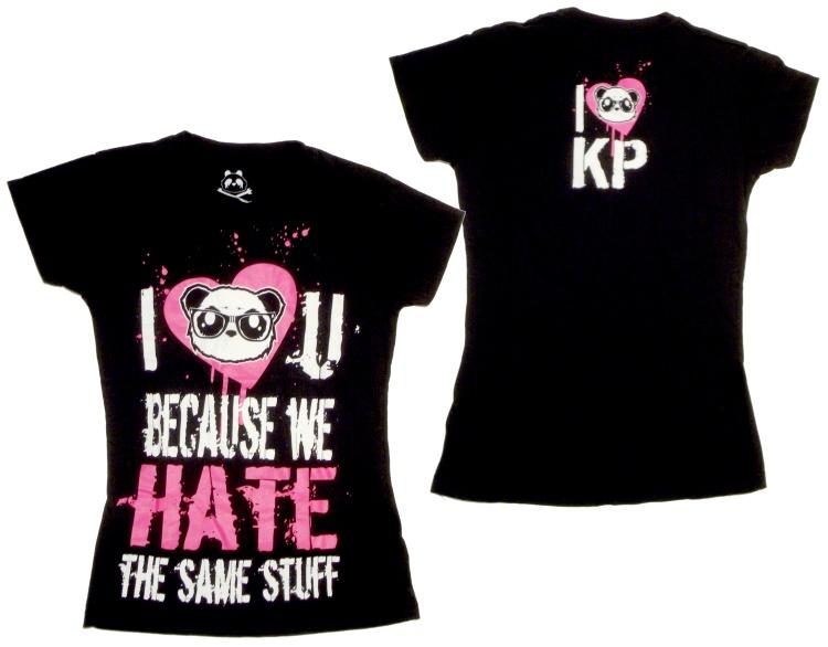 Girl Shirt Killerpanda Evil Clothing