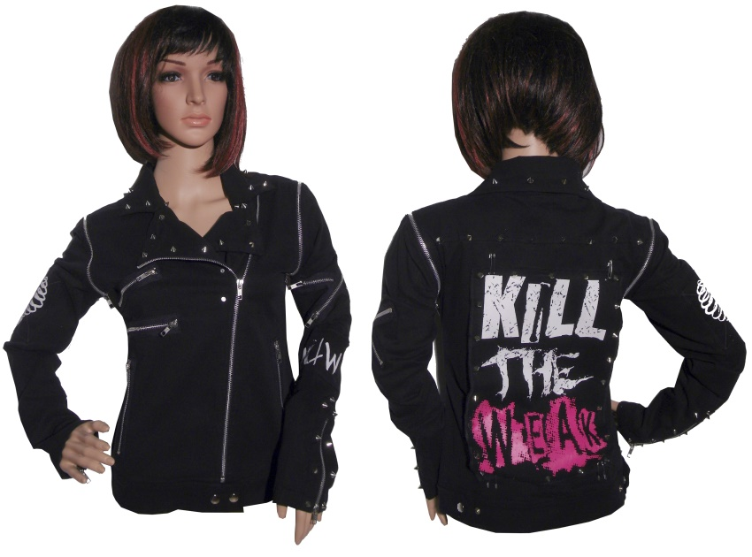 Girl Jacke Evil Clothing Heartless