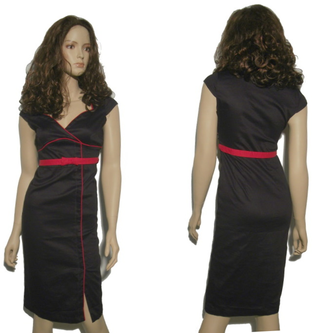 Kleid 50iger Jahre Stil Living Dead Souls