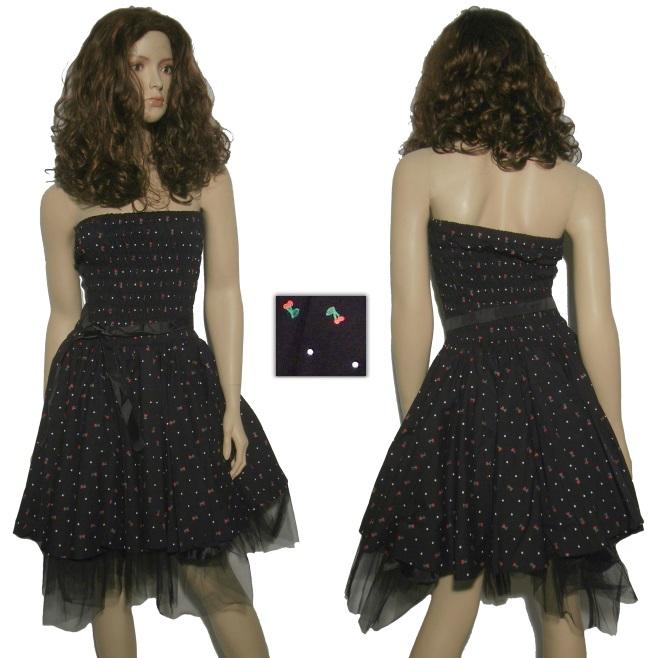 Rock N Roll Kleid Kirschen
