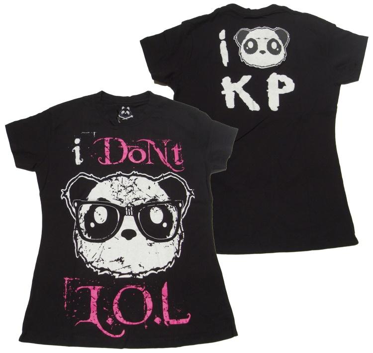 Girl Shirt Comic Evil Clothing Killer Panda