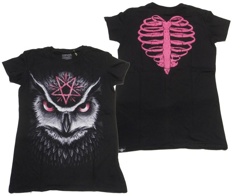 Girl Shirt Comic Evil Clothing Heartless