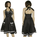 Matrosenkleid/Rock n Roll Kleid Hellbunny
