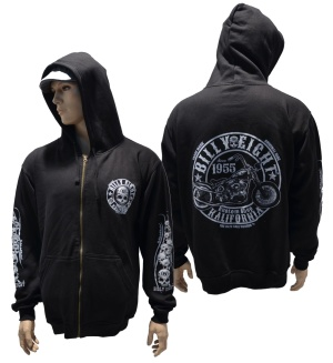 Kapuzenjacke Billy Eight Kustom Shop