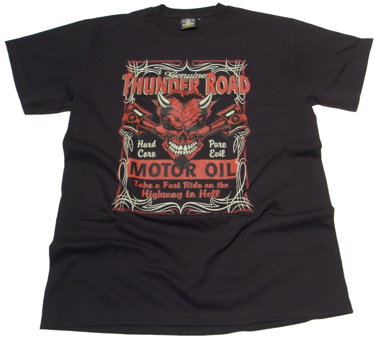 T-Shirt Thunder Road Motor Oil