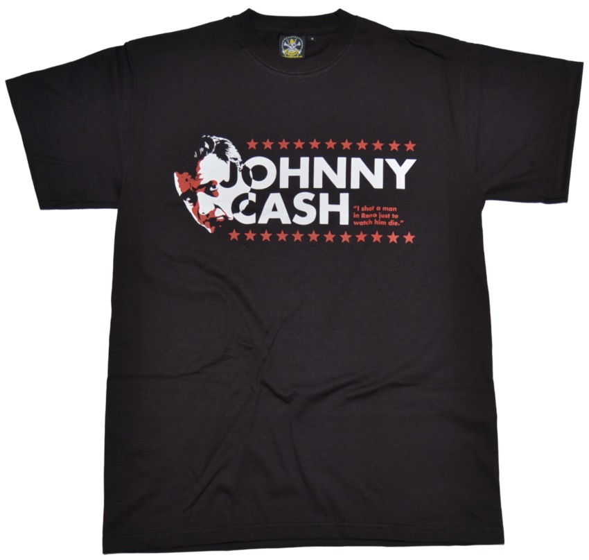T-Shirt Johnny C A S H Shot A Man