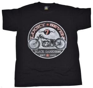 T-Shirt Lucky Seven american old school bike style