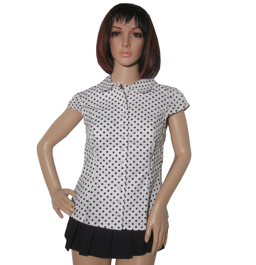 Rockabilly Bluse 50iger jahre Miss Candyfloss