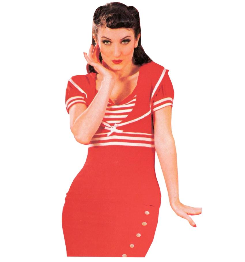 Sailor Top Miss Candyfloss