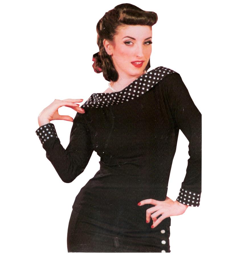 Shirt 50iger Jahre Miss Candyfloss