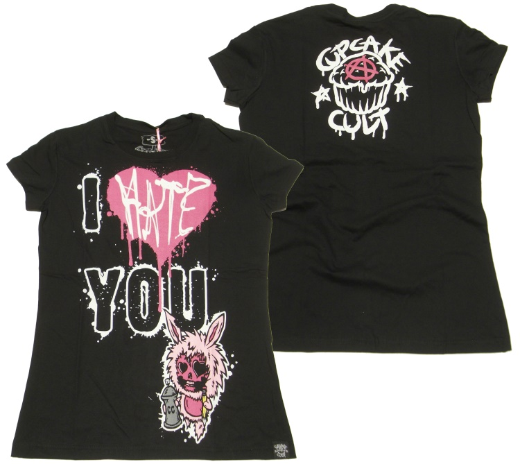 Girlshirt Evil Clothing Cupcake Cult
